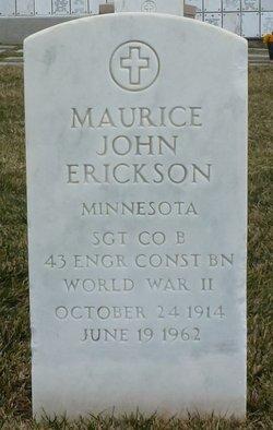 Maurice John Erickson