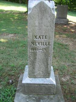 """Catherine Fredericka """"Kate"""" <I>Tullis</I> Neville"""