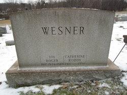 Catherine Theresa <I>Wesner</I> Roddy