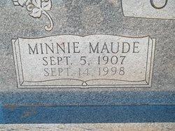Minnie Maud <I>Boughter</I> Callan