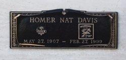 "Homer Nathaniel ""Nat"" Davis"