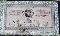 James A McDonald