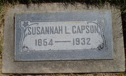 Susannah Louisa <I>Ranck</I> Capson