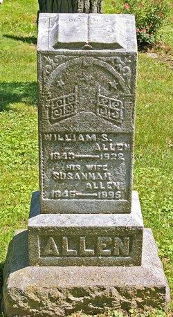 Susannah <I>Heaslip</I> Allen