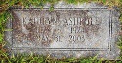 Kathryn Elizabeth <I>Merrell</I> Ashpole