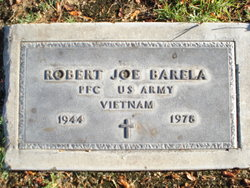 PFC Robert Joe Barela