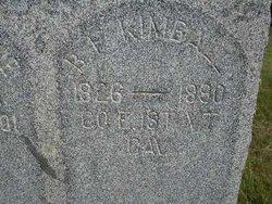 Pvt Benjamin Franklin Kimball