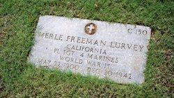 SGT Merle Freeman Lurvey