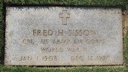 Fred H Sisson