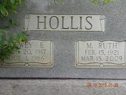 M Ruth Hollis