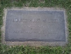 Louise <I>Hurt</I> Walker