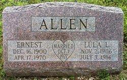 Lula L. <I>Dougherty</I> Allen