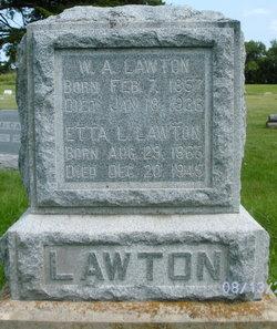 Etta Edna <I>Little</I> Lawton