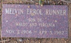 Melvin Errol Runner