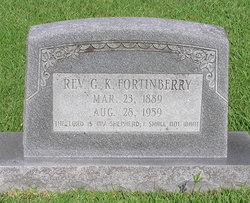 Rev G. K. Fortinberry