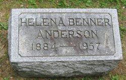 Sarah Helena <I>Benner</I> Anderson