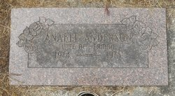 Anabel S <I>Harlan</I> Anderson
