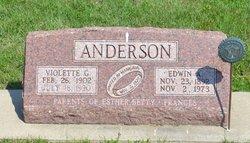 Edwin Adolph Anderson