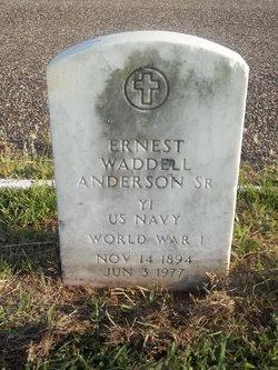 Ernest Waddell Anderson Sr.
