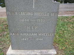 Kate Virginia <I>Kirkham</I> Wheeler
