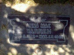 Anna Mae <I>Walker</I> Warren