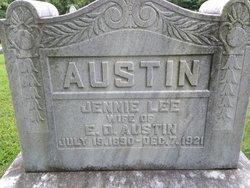 Jennie Lee <I>Grissom</I> Austin