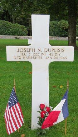Tec5 Joseph Napoleon Duplisis