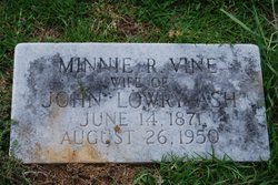 Minnie R. <I>Vine</I> Ash