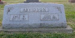 John A Arvidson