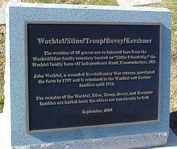 Wachtel-Stine-Troup Family Cemetery