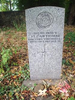 Pvt John Thomas Cawthorne