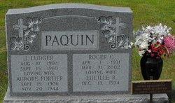 Aurore <I>Fortier</I> Paquin