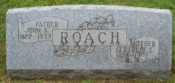 Gertrude <I>Ewart</I> Roach