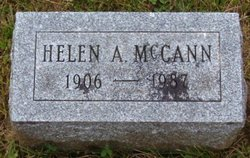 Helen Amy <I>Ewart</I> McCann