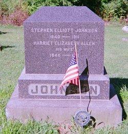 Harriet Elizabeth <I>Allen</I> Johnson