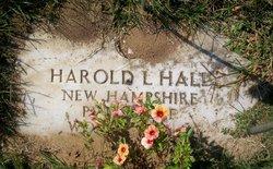 Pvt Harold L Hall