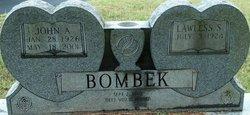 """Lawless Almeda """"Lois"""" <I>Slaughter</I> Bombek"""