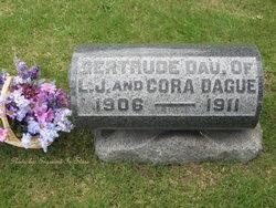 Gertrude Marie Dague