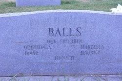 Marguerite <I>Gittins</I> Balls