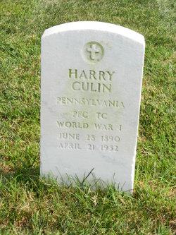 Harry Culin