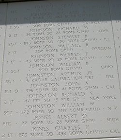 Sgt Arthur Johnston, Jr