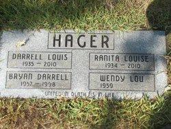 """Ranita Louise """"Rita"""" <I>Cohoon</I> Hager"""