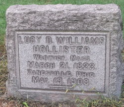 Lucy D. <I>Williams</I> Hollister