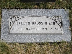 Evelyn Eleanor <I>Brons</I> Hirth