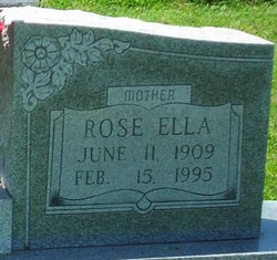 Rose Ella <I>Mashburn</I> Robertson