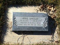 April Wheeler