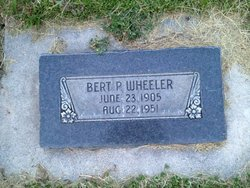 Bert Perry Wheeler