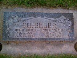 Edith May <I>Hutchinson</I> Wheeler