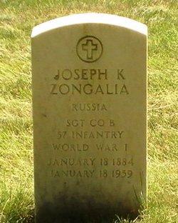 Sgt Joseph K. Zongalia
