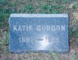 Katie <I>Sutton</I> Gordon